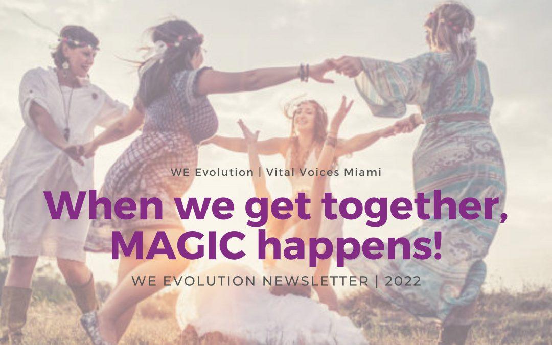 October Newsletter – When we get together, MAGIC happens!